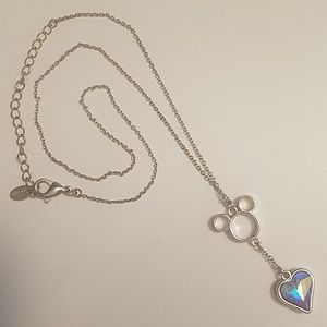 Disney Mickey Heart Necklace